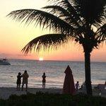 Sunset from Cabana Bar