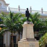 Statue at Park Hidalgo