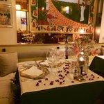 La mesa de los enamorados