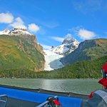 Serrano Glacier from the river