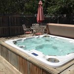 Private hot tubs to enjoy