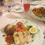 food at 'Garibaldi's'