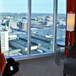 View, King Room, 33rd Floor, JW Marriott, Indianapolis, IN