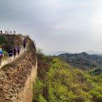 Hiking along the Wall