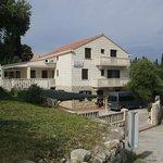 Villa Radovic from the road