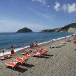 spiaggia e Sant'Angelo