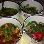 Chef Mohamed's vegetarian tiffin diner (special request)