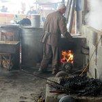 Coal-fired oven