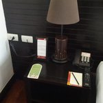 Nightstand with outlet