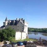 Château de Montsoreau en bord de Loire