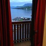 balcón y vista habitación 19