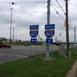 The Crossroads offers easy access to the Interstate...