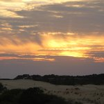 Sunset from Jockey Ridge dunes