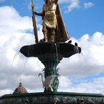 Fonte na Plaza das Armas