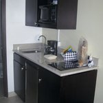 Rm 705 Kitchenette - well equipped