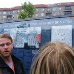 Rob explaining the place of Hitler's Bunker