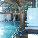 piscina aquecida no terraço