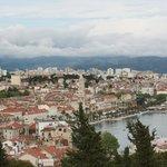 Aussicht auf Split von Marjan Hill