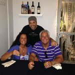 My Wife and I with Vincenzo