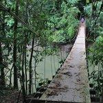 Pont au-dessus de la rivière Agujitas
