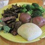 Sportmens Steak & Mushrooms