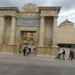 A porta da cidade romana