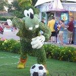 Goofy, Topiary May 2014 Epcot Disney