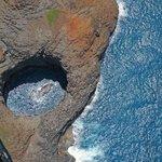 A hidden swim-in grotto on the Na Pali coast
