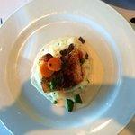 Chilean Sea Bass, Whipped Potatoes, Champagne Truffle Sauce