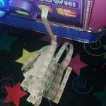 Jackpot! Thousand tickets!
