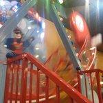 Indoor kids ride