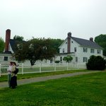 The old estate house at Caledon