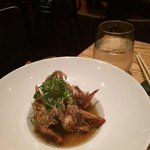 4th Course (mine) - Soft Shell crab