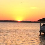 Sunset from Fager's Island Bar