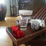 relax with delicious tea