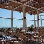 Restaurant near the pool