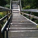 staircase down to beach