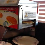 only in America - good pancakes too!