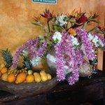 gorgeous arrangement and excellent food