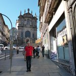 A view of the Igreja de São Pedro dos Clérigos in O Porto