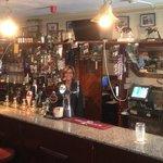 Teresa took a job bar tending while we were there