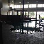 Pool area was really big