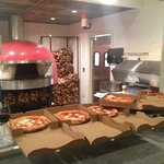 Yum - authentic wood fired Neopolitan Artisan pizza.