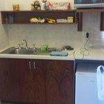 Deluxe Suite - Kitchen Area