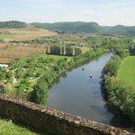 From Chateau Beynac
