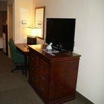 Computer Desk & TV