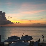 A beautiful Caribbean sunset