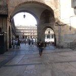Entrada a la Plaza Mayor de Salamanca