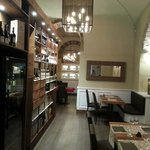 Inside the new Osteria