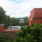 View from room to River Plate